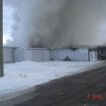 70 Mile House Store Fire - January 2, 2010