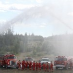 Fire Truck Waterfall